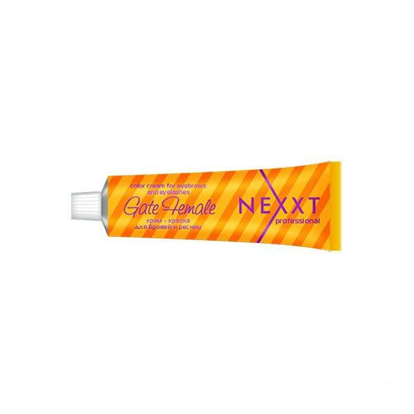 Купить Краски для бровей и ресниц NEXXT Professional, Краска для бровей и ресниц Nexxt Professional черный 50 мл