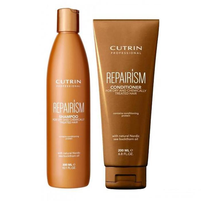 Купить Шампуни Cutrin, Набор Cutrin №17 Repair ISM Set для сухих и химически поврежденных волос 500 мл