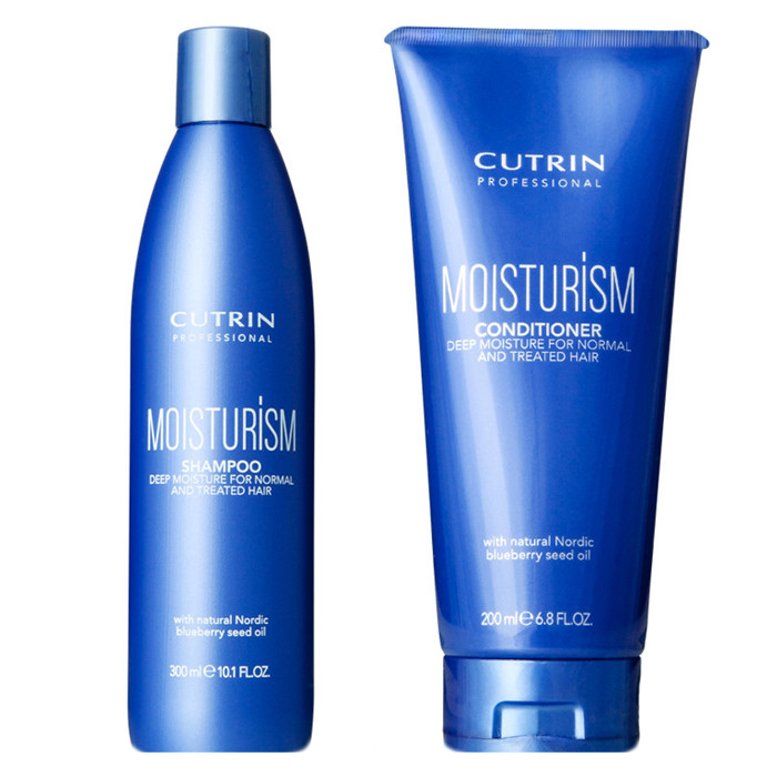 Купить Шампуни Cutrin, Набор Cutrin №21 MoisturISM Set интенсивное увлажнение волос 500 мл