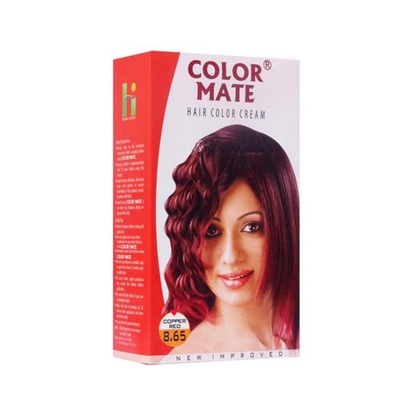 Купить Краска для волос Color Mate Color Mate, Крем-краска Color Mate Hair Copper Red 130 мл