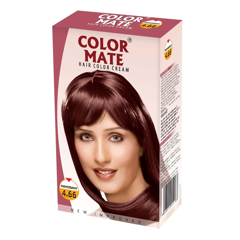 Купить Краска для волос Color Mate Color Mate, Крем-краска Color Mate Hair Mahogany 130 мл