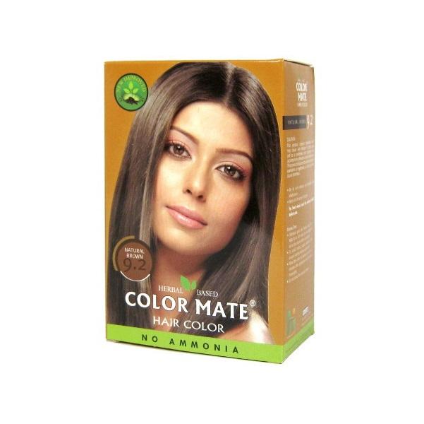 Купить Краска для волос Color Mate Color Mate, Хна для волос натуральная Color Mate Natural Brown 5 х 15 г