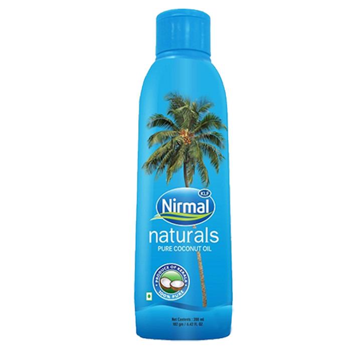 Купить Масла для волос KLF Nirmal Industries, Масло для волос и тела KLF Nirmal Industries кокосовое 200 мл