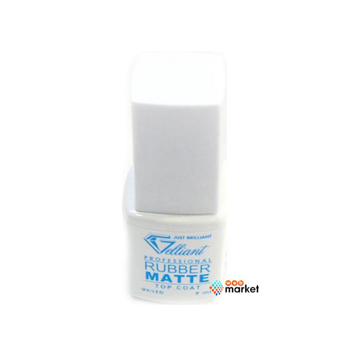 Купить Топовое покрытие для гель-лака Gelliant, Гель Gelliant Finish Rubber Matte Top Coat 9 мл