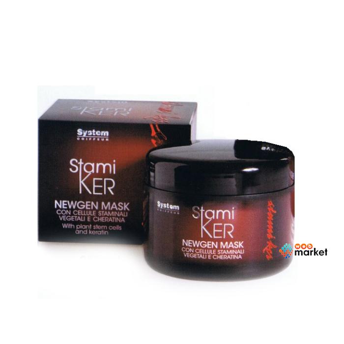 Купить Маски для волос Dikson, Маска для волос Dikson Stamiker Newgen Mask на основе стволовых клеток и кератина 250 мл