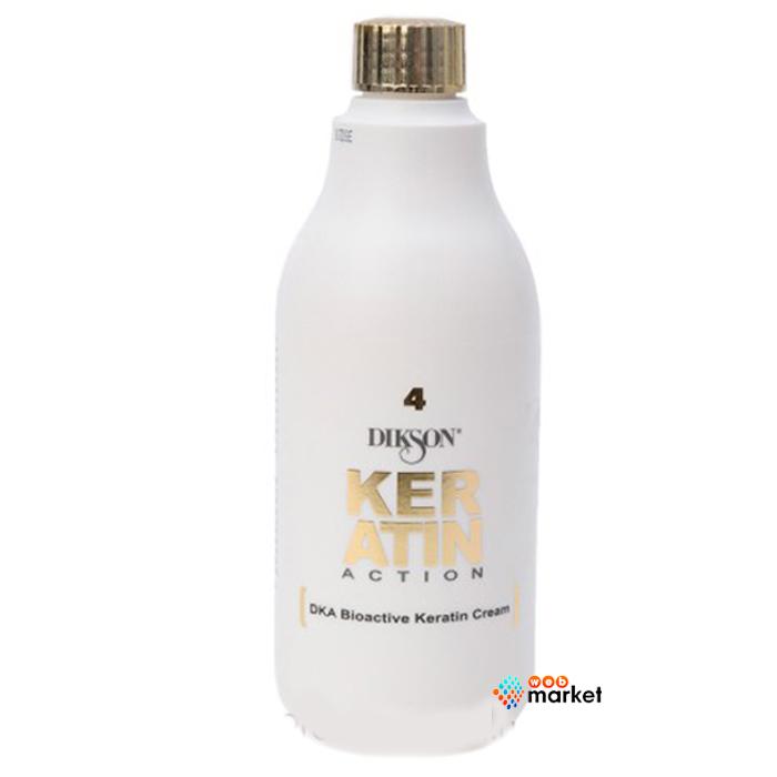 Купить Кремы для волос Dikson, Крем Dikson Dka Bioactive Keratin Cream 4 восстановление и лечение волос 500 мл