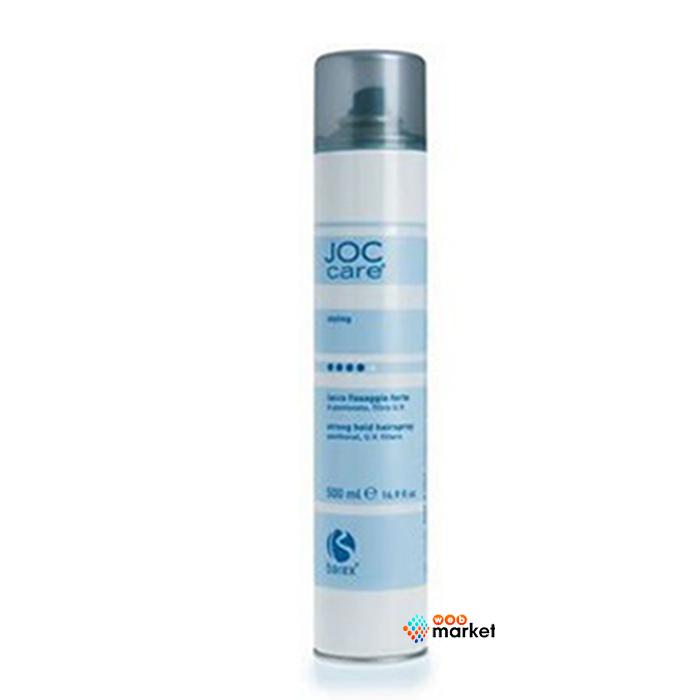 Купить Стайлинг волос Barex, Лак для волос Barex Italiana Joc Care Styling сильной фиксации с UV-фильтром и D-пантенолом 500 мл