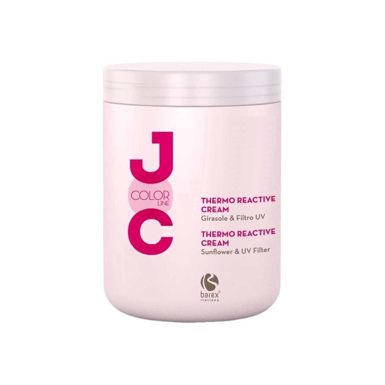 Купить Кремы для волос Barex, Крем Barex Italiana Joc Cure термо-активний с экстрактом подсолнечника и УФ-фильтром 1000 мл