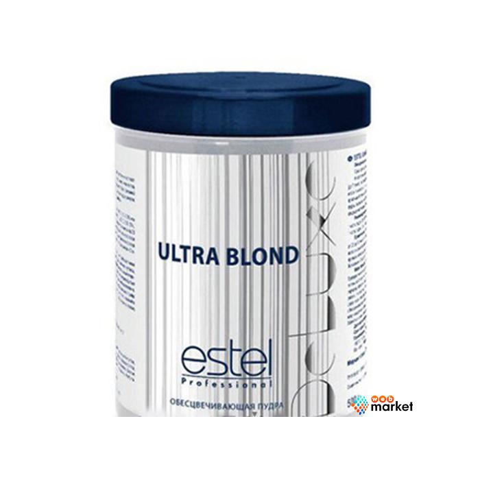 Купить Осветляющие пудры Estel, Пудра Estel De Luxe Ultra Blond для обесцвечивания волос 750 г