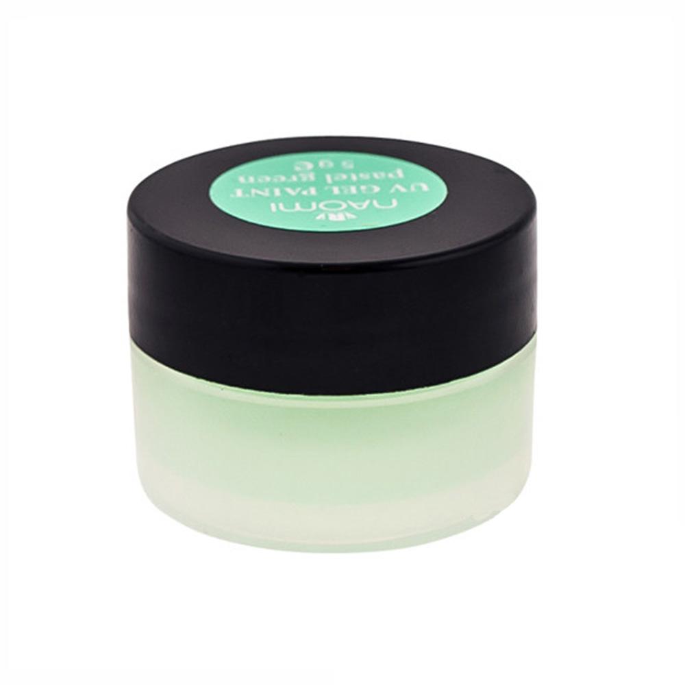 Купить Гель-краски Naomi, Гель-краска Naomi Pastel Green UV Gel Paint 5 г