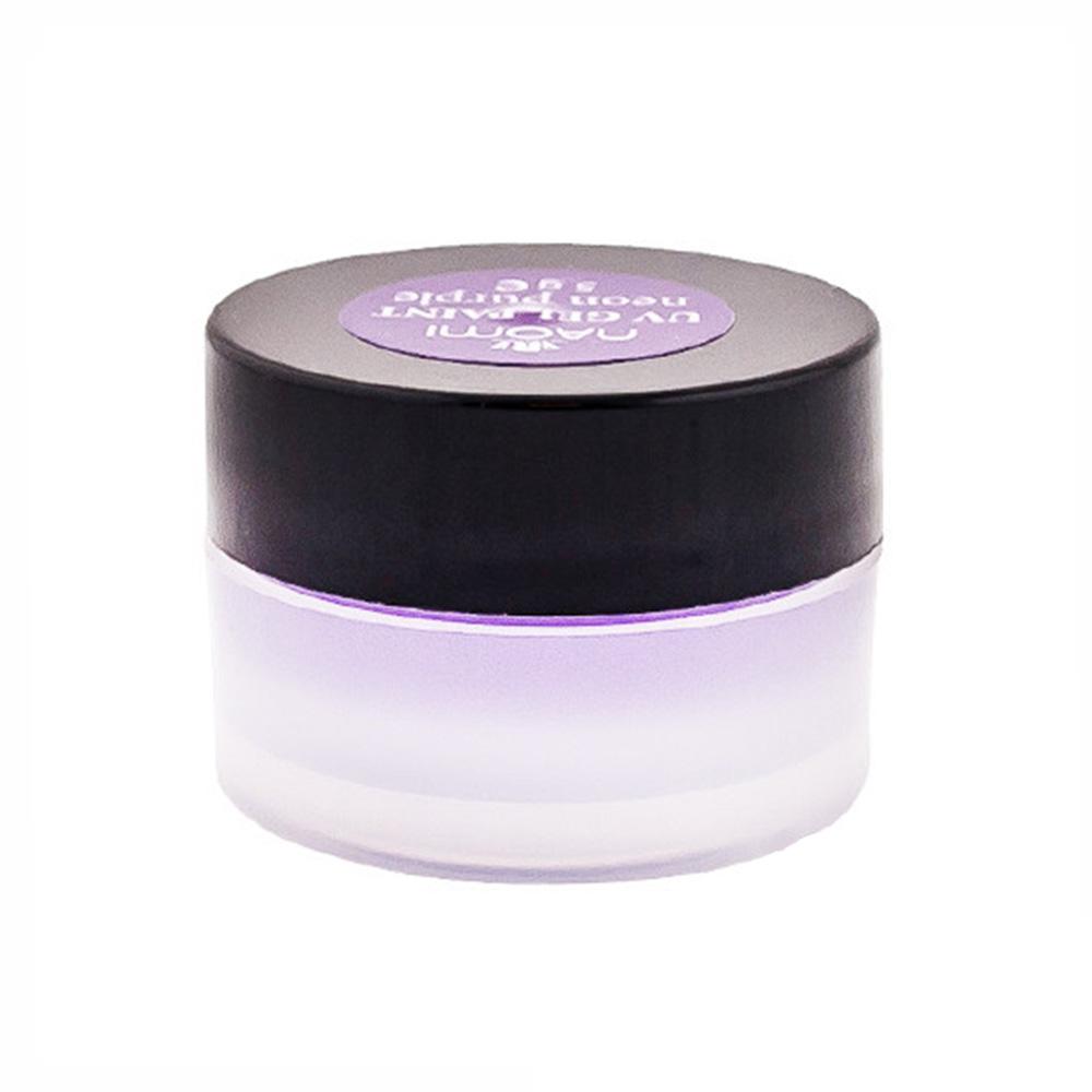 Купить Гель-краски Naomi, Гель-краска Naomi Pastel Purple UV Gel Paint 5 г