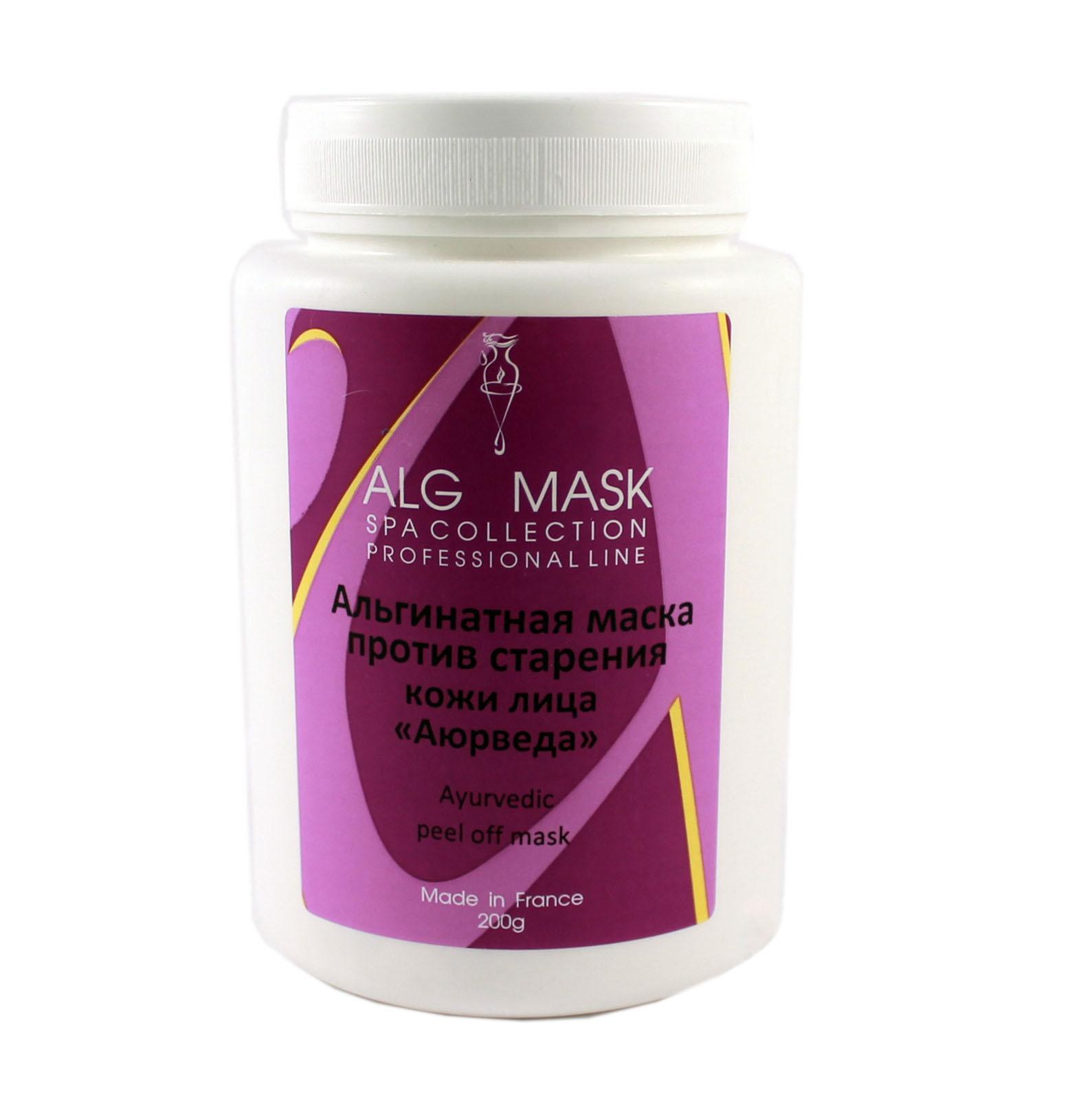 Купить Маски для лица Alg & Spa, Альгинатная маска Alg Spa Аюрведа против старения кожи лица 500 г