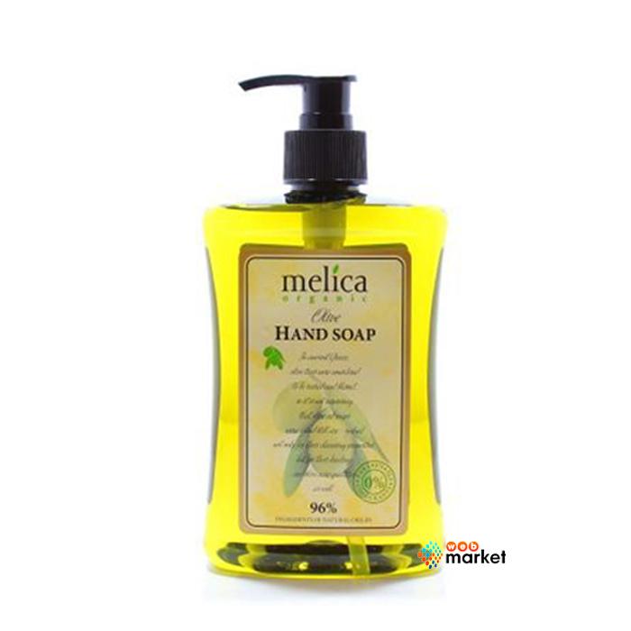 Купить Мыло Melica Organic, Жидкое мыло Melica Organic оливки 500 мл