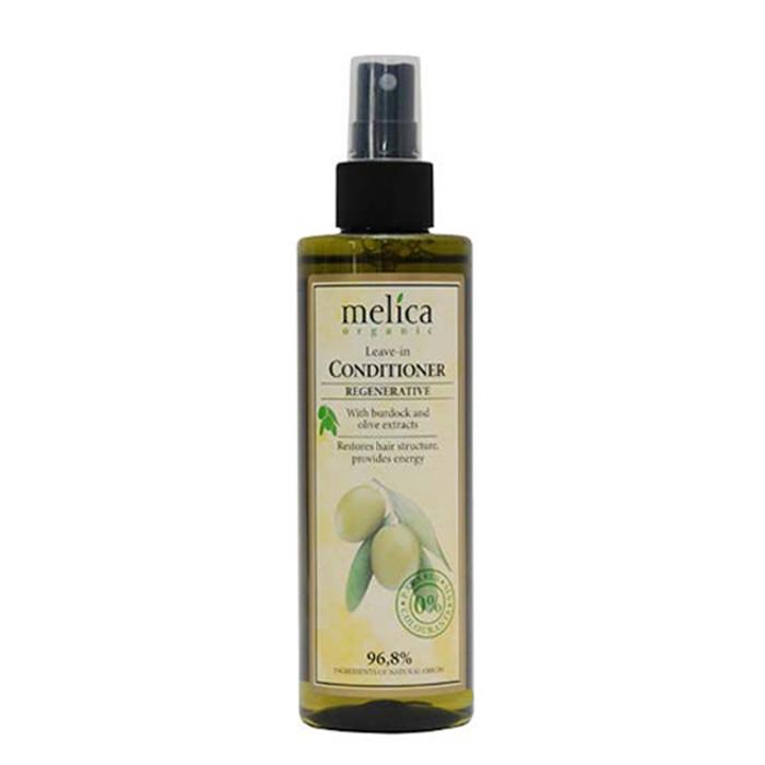 Кондиционер Melica Organic с экстрактами лопуха и оливы 200 мл