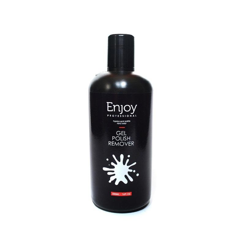 Купить Снятие гель-лака Enjoy Professional, Жидкость для снятия гель лака Enjoy Алоэ 500 мл