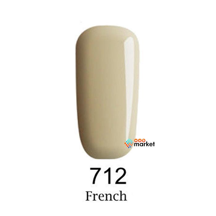 Купить Гель-лаки F.O.X, Гель-лак F.O.X Gel-Polish Gold French 712 6 мл