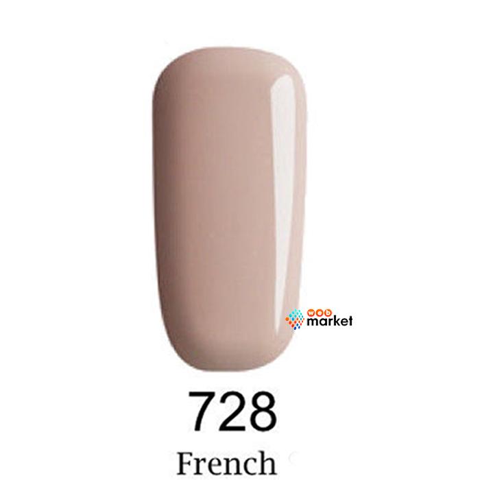 Купить Гель-лаки F.O.X, Гель-лак F.O.X Gel-Polish Gold French 728 6 мл