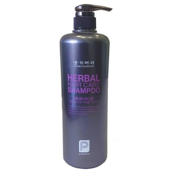 Шампуни Daeng Gi Meo Ri, Шампунь Daeng Gi Meo Ri Professional Herbal Hair Shampoo для окрашенных волос 1000 мл  - купить со скидкой