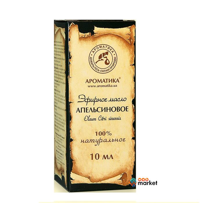Купить Эфирные масла Ароматика, Эфирное масло Ароматика Апельсиновое 10 мл