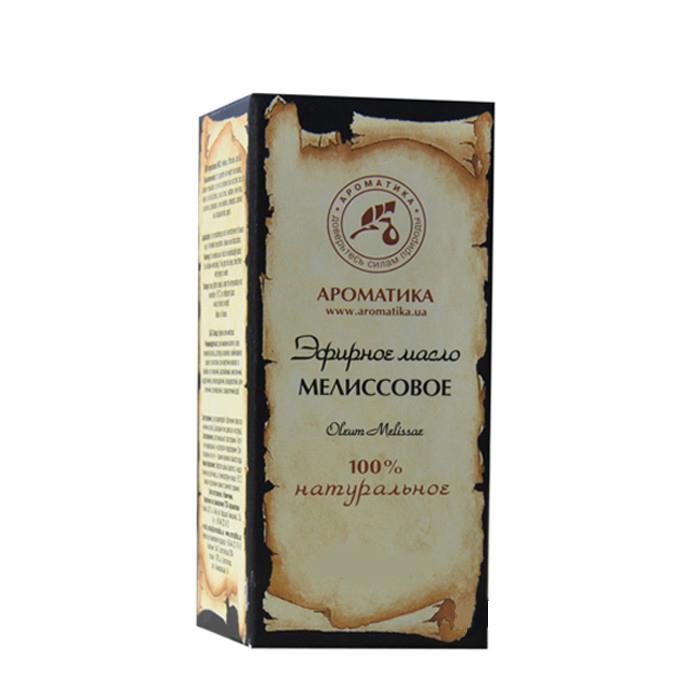 Купить Эфирные масла Ароматика, Эфирное масло Ароматика Мелиссовое 10 мл