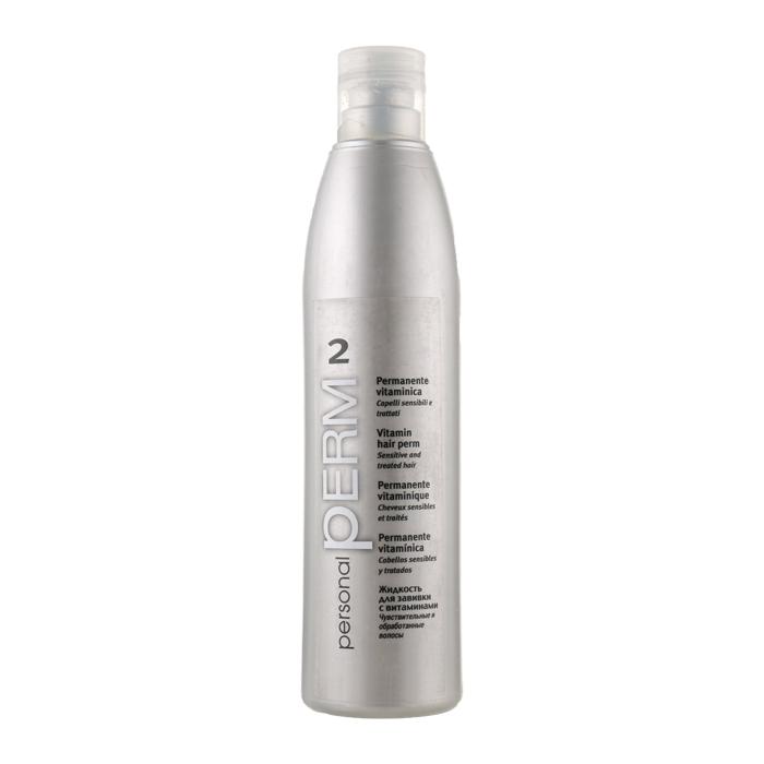 Купить Химическая завивка Punti di Vista, Витаминный лосьон Punti di Vista Personal Perm для завивки окрашенных волос с биодобавками 500 мл