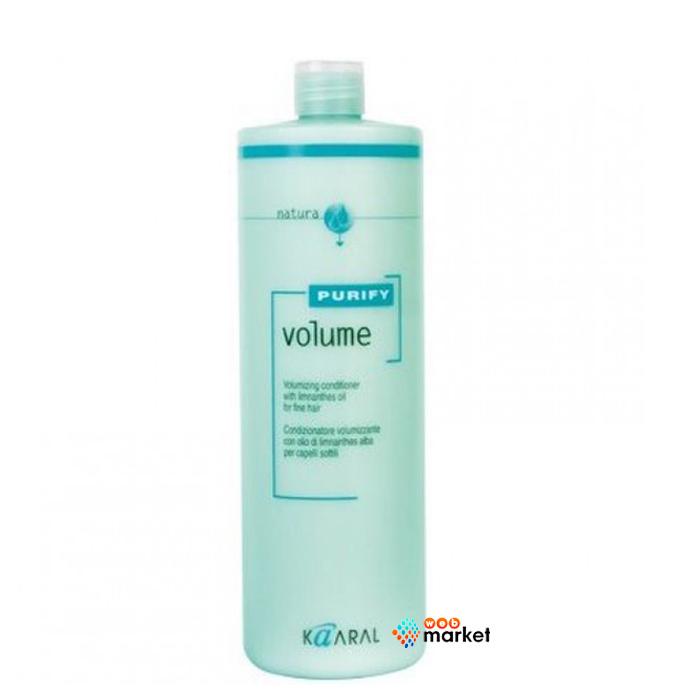 Купить Кондиционеры для волос Kaaral, Кондиционер-крем Kaaral Volume для тонких волос с маслом лимнантеса 1000 мл