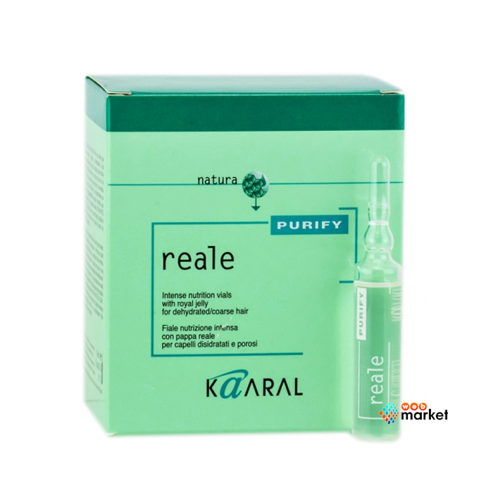 Купить Лосьоны для волос Kaaral, Лосьон для волос Kaaral интенсивный восстанавливающий 12х10 мл