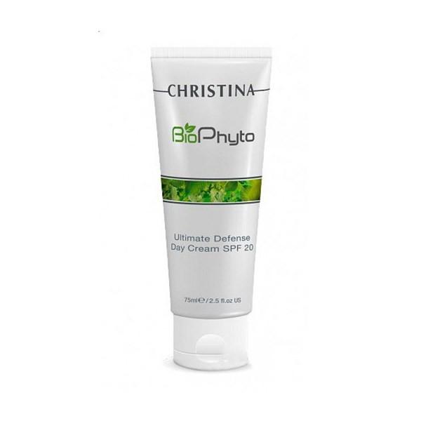 Купить Кремы для лица Christina, Дневной крем Christina Bio Phyto Ultimate Defense DayCream SPF 20 75 мл