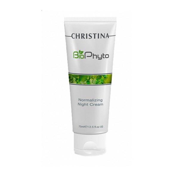 Купить Кремы для лица Christina, Ночной крем Christina Bio Phyto Normalizing Night Cream Нормализующий 75 мл
