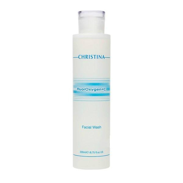 Купить Демакияж Christina, Средство для демакияжа Christina FluorOxygen + C Facial Wash Очищающее 200 мл
