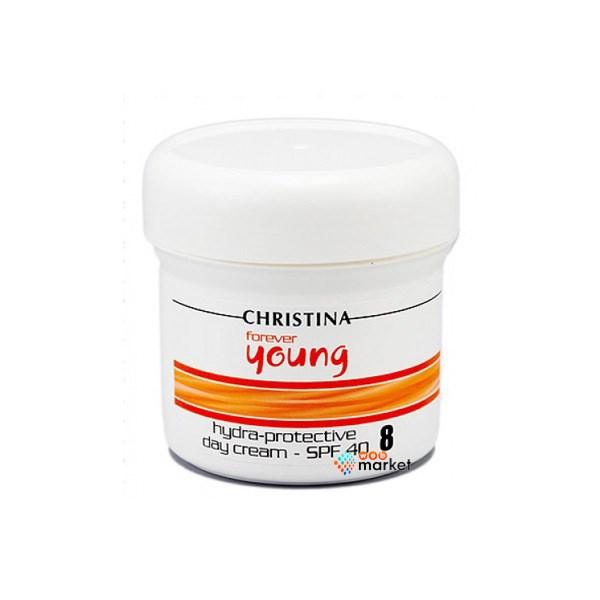Купить Кремы для лица Christina, Дневной крем Christina Forever Young Hydra Protective Day Cream SPF 40 шаг 8 150 мл