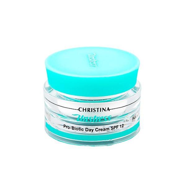 Купить Кремы для лица Christina, Дневной крем Christina Unstress ProBiotic day Cream с пробиотическим действием 50 мл