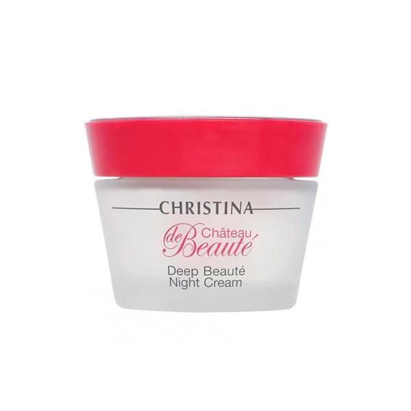Купить Кремы для лица Christina, Обновляющий ночной крем Christina Chateau de Beaute Deep Beaute Night Cream Интенсивный 50 мл