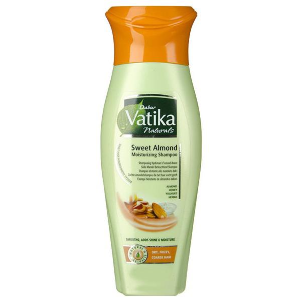 Шампуни Dabur, Шампунь Vatika Sweet Almond для сухих волос 200 мл  - купить со скидкой