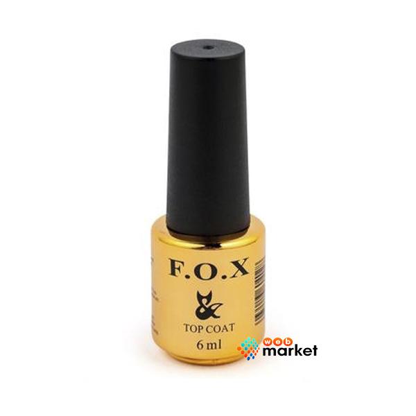 Купить Топовое покрытие для гель-лака F.O.X, Топовое покрытие F.O.X Top Pearl Silver Магнитное 6 мл