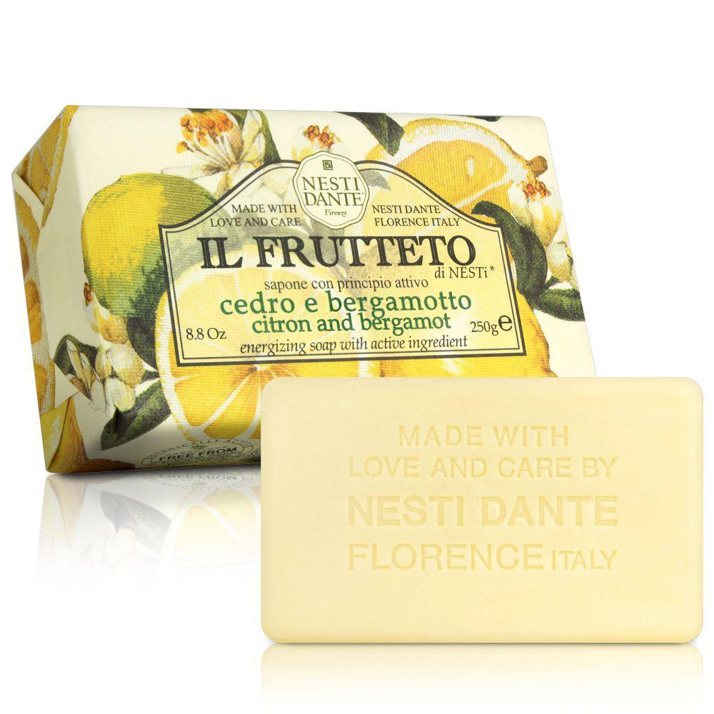 Купить Уход за телом Nesti Dante, Фруктовое мыло Nesti Dante Лимон и бергамот 250 г