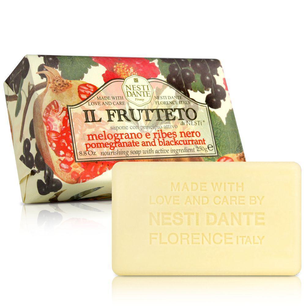 Купить Мыло Nesti Dante, Фруктовое мыло Nesti Dante Гранат и черная смородина 250 г