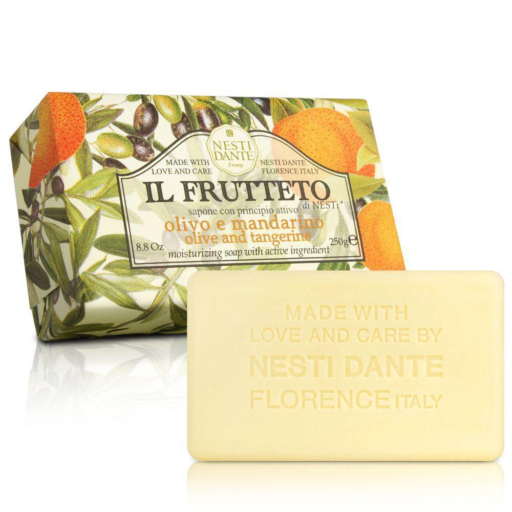 Купить Уход за телом Nesti Dante, Фруктовое мыло Nesti Dante Оливковое масло и мандарин 250 г