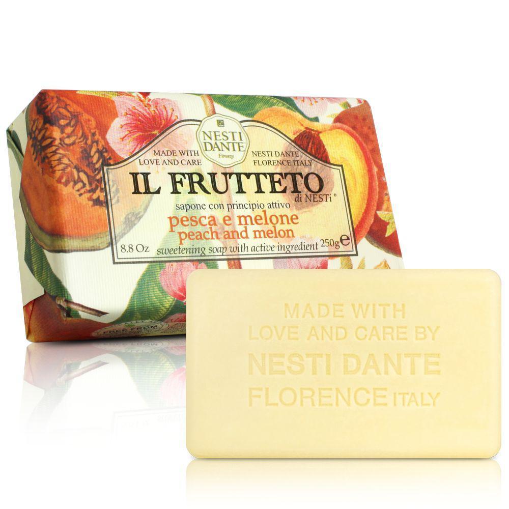 Купить Мыло Nesti Dante, Фруктовое мыло Nesti Dante Персик и дыня 250 г