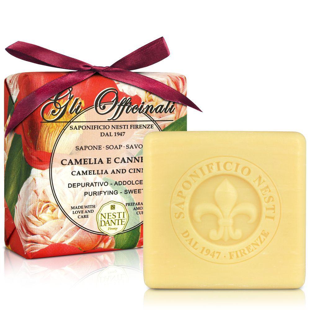 Купить Мыло Nesti Dante, Растительное мыло Nesti Dante Камелия и корица 200 г