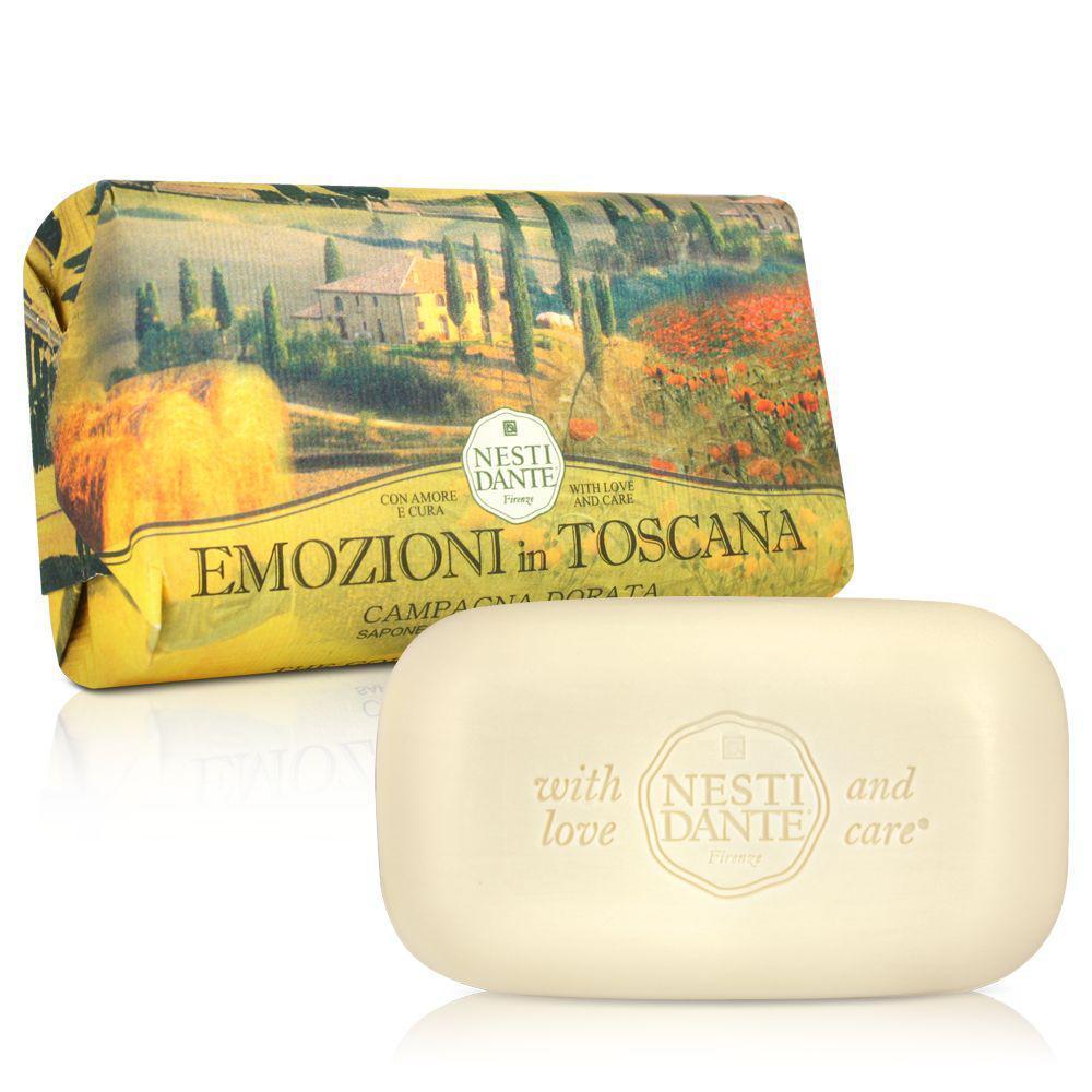 Купить Мыло Nesti Dante Эмоции Тосканы Золотая страна 250 г