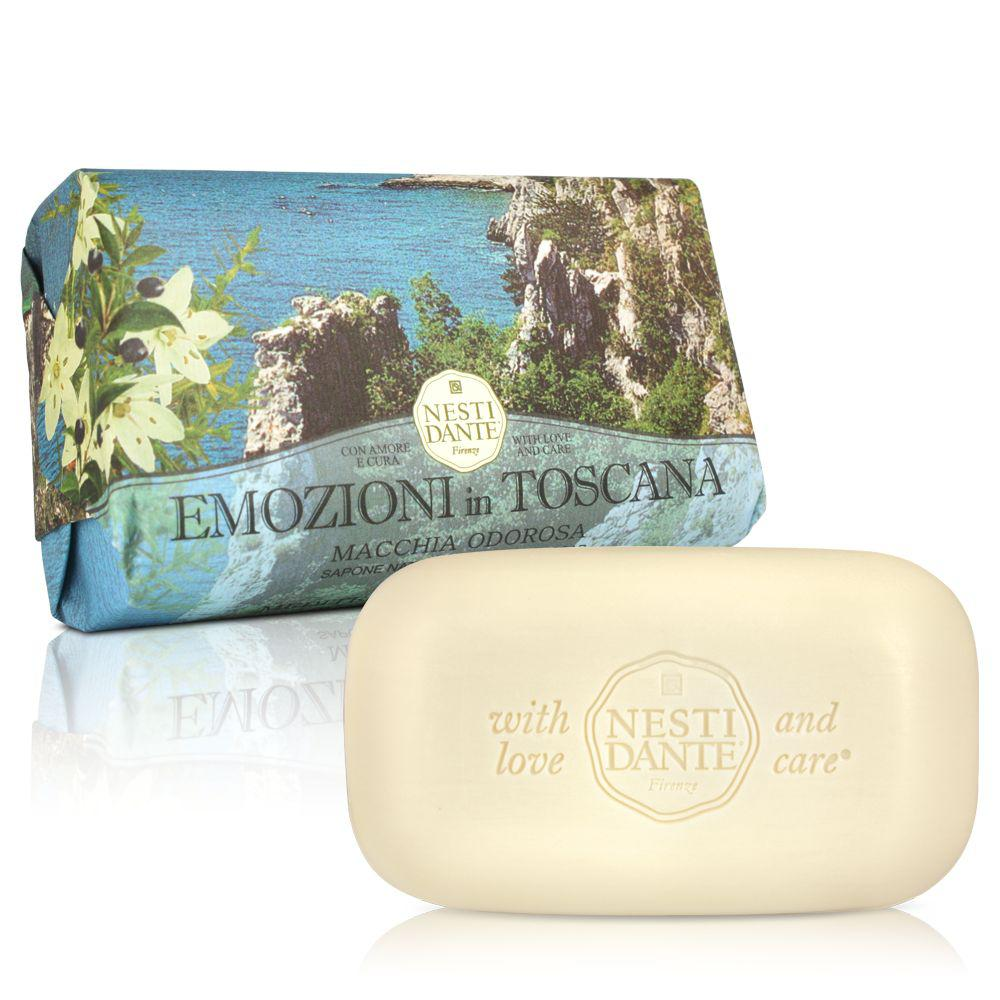 Купить Мыло Nesti Dante Эмоции Тосканы Пламя Одороса Прикосновение Средиземноморья 250 г