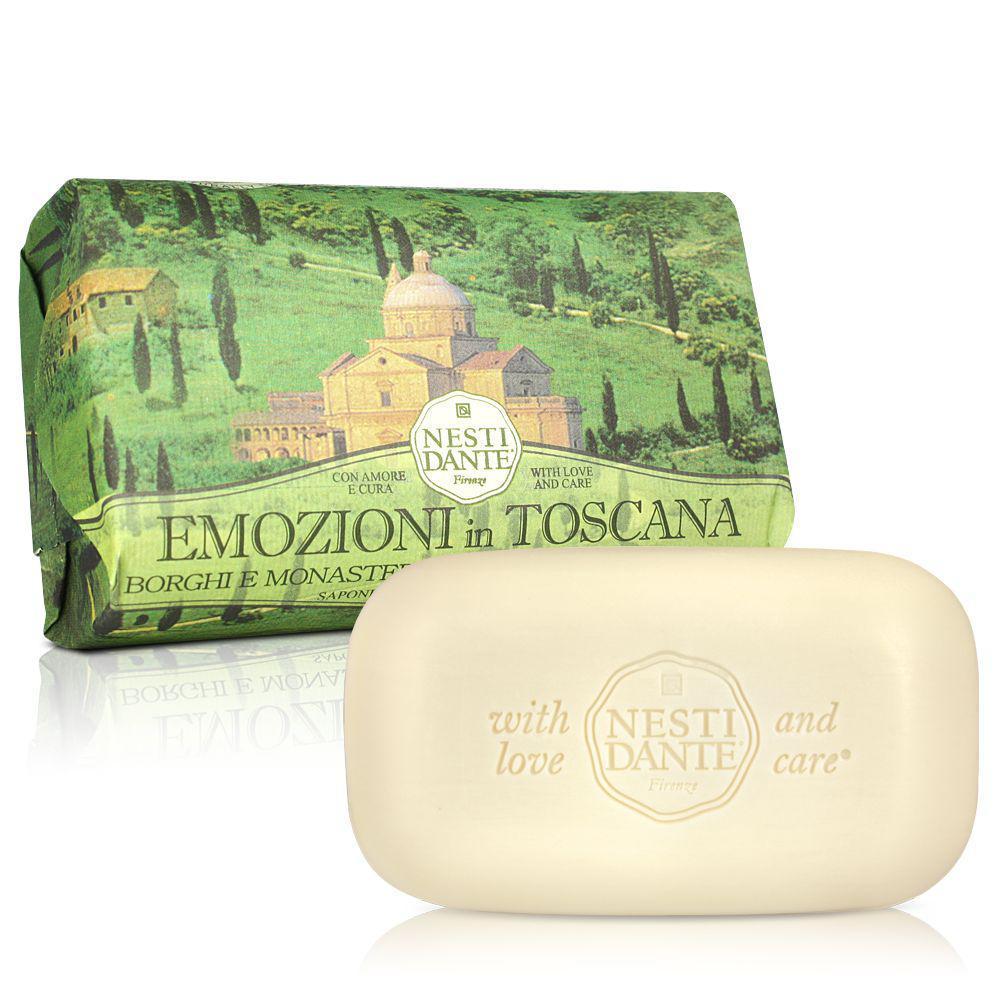 Купить Мыло Nesti Dante Эмоции Тосканы Села и монастыри 250 г