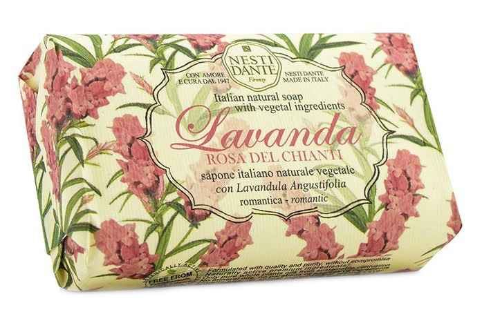 Купить Мыло Nesti Dante, Лавандовое мыло Nesti Dante Lavanda Rosa del Chianti Розовое кьянти 150 г