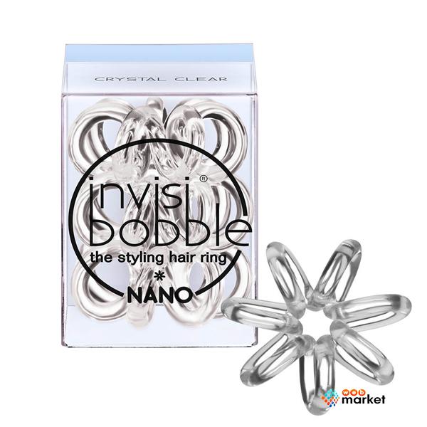 invisibobble Резинка-браслет для волос Invisibobble Nano Crystal Clear 256593