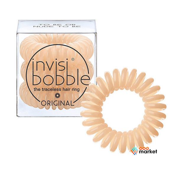 Купить Парикмахерские инструменты Invisibobble, Резинка-браслет для волос Invisibobble Original To Be Or Nude To Be