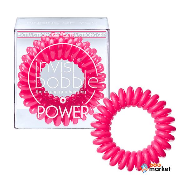 Купить Парикмахерские инструменты Invisibobble, Резинка-браслет для волос Invisibobble Power Pinking of you
