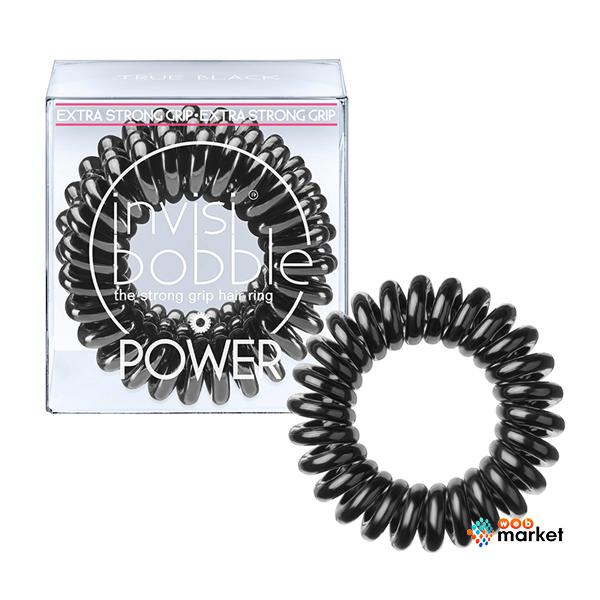 Купить Парикмахерские инструменты Invisibobble, Резинка-браслет для волос Invisibobble Power True black