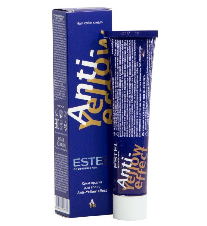 Купить Краска для волос Estel Estel, Стойкая крем-краска для волос Estel De Luxe с анти-желтым эффектом 60 мл