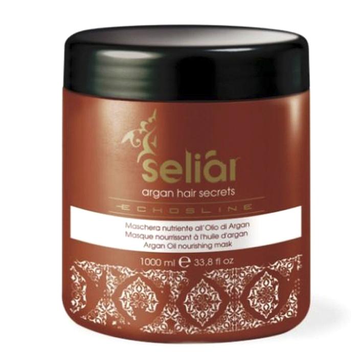 echosline Маска для волос Echosline Seliar Argan питательная с аргановым маслом 1000 мл 257786